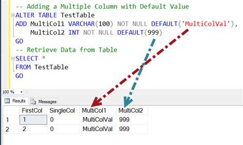how to add column in table in sql sql server how to add columns to table with