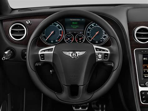 bentley steering wheel image 2013 bentley continental gt 2 door convertible