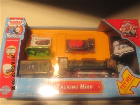 trackmaster patchwork hiro trackmaster motorized talking