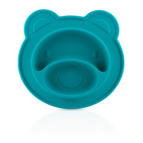 Nuby Sure Grip Miracle Mat Silicone Section Plate Piring Partisi Bayi 9 n 251 by sure grip silicone miracle mat section plate walmart ca
