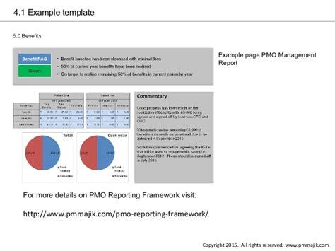 Reporting Framework Template