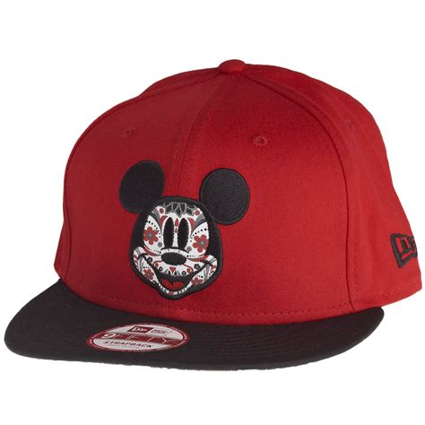 new era mickey new era 9fifty snapback cap floral disney mickey mouse