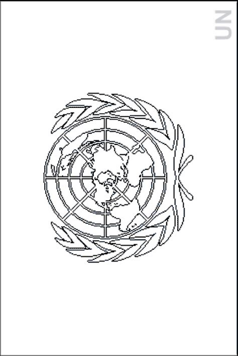Colouring Book Of Flags International Organizations Nations Coloring Pages