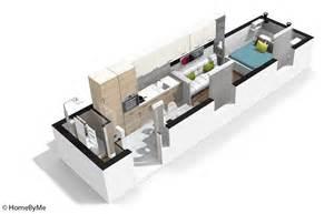 d 233 coration appartement en longueur