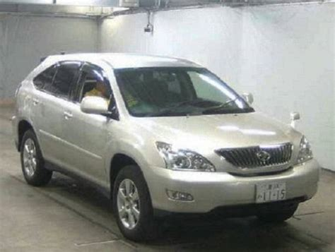 Toyota Used Cars In Japan 2005 5 Toyota Harrier Mcu30w 300g L Package For Sale