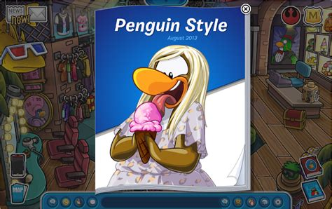 club penguin old clothes penguin style catalogue