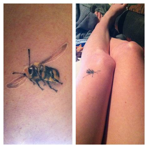 small bee tattoo small bee best design ideas