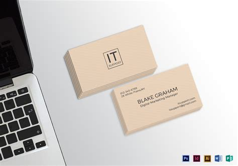 easy card templates simple clean business card template in psd word