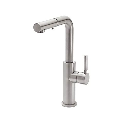 pullout kitchen faucets nickel brushed