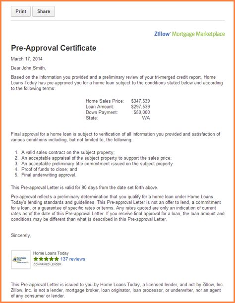 Mortgage Approval Letter Pdf mortgage pre approval letter sle the best letter sle