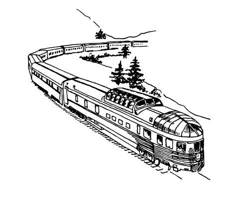 clipart treno clipart illustration free stock photo