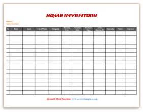 home inventory list template microsoft word templates home inventory list template