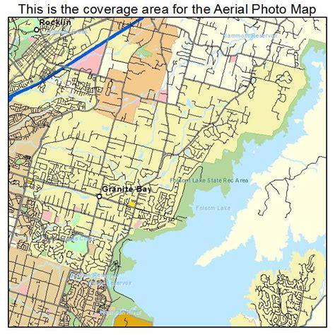 map of bay california aerial photography map of granite bay ca california