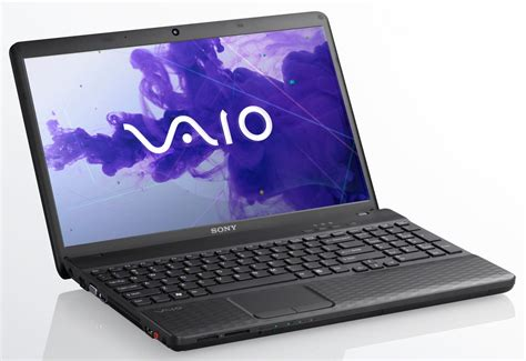 Sony As Series sony vaio el2 vpcel22fx b 15 5 quot laptop black d