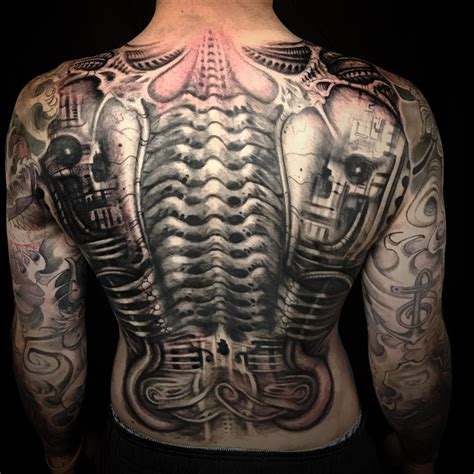 h tattoos designs 75 best biomechanical designs meanings top of