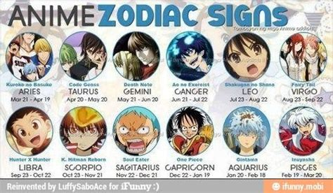anime zodiac signs calendar 17 best images about fairy tale birthday game on pinterest