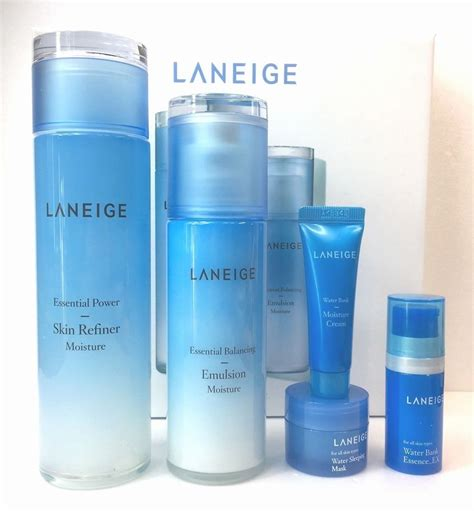 Laneige Essential Power Skin Refiner Moisture Original 30ml 2017 laneige essential power skin refiner balancing emulsion moisture set w t ebay