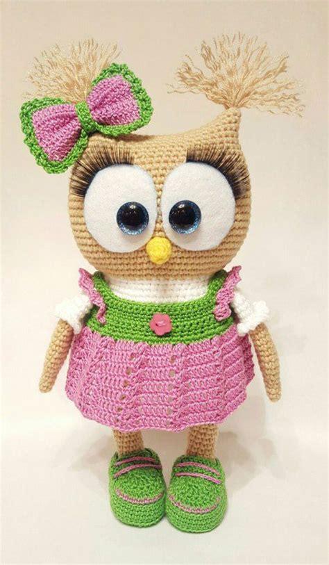pinterest pattern doll cute owl in dress free amigurumi pattern free