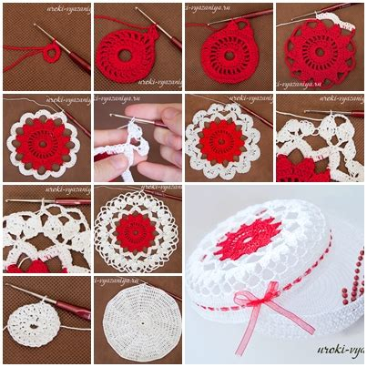 how to make cool jewelry at home how to diy crochet treasure box step by step