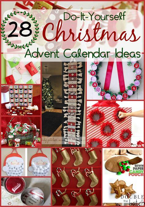 advent calendar ideas for to make diy advent calendar ideas