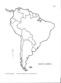 map of and south america blank best photos of south america map blank worksheet blank