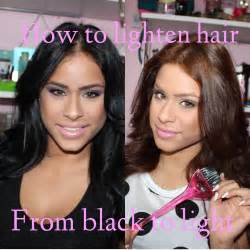 how to lighten colored hair how to lighten hair hair care after