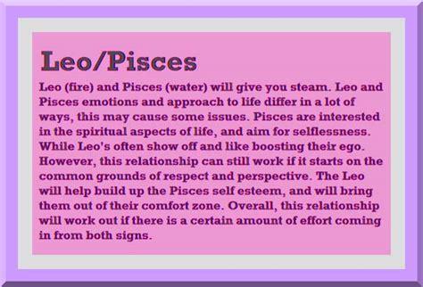 pisces and leo quotes quotesgram