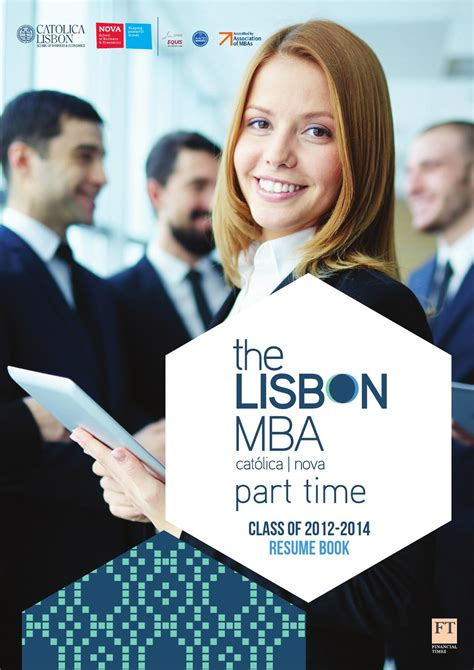 Lisbon Mba Program by Cv Book The Lisbon Mba Part Time 12 14 By The Lisbon Mba