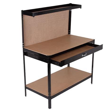 heavy duty workbench with drawers homegear heavy duty metal workbench for garage workshop