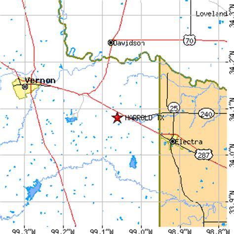 electra texas map harrold texas tx population data races housing economy