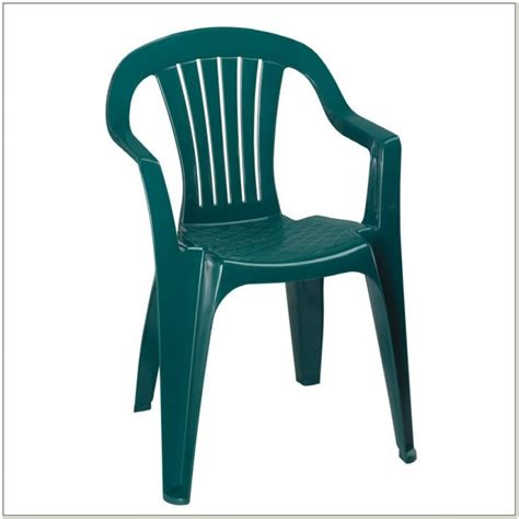 White Plastic Patio Chairs Stackable   Patios : Home