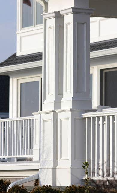 Exterior Column Wraps Recessed Pvc Column Wraps Style Exterior Other
