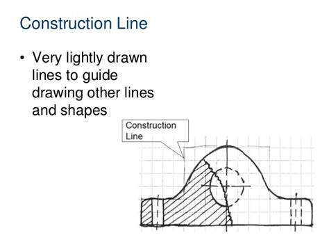 section line definition 2 1 a line conventions
