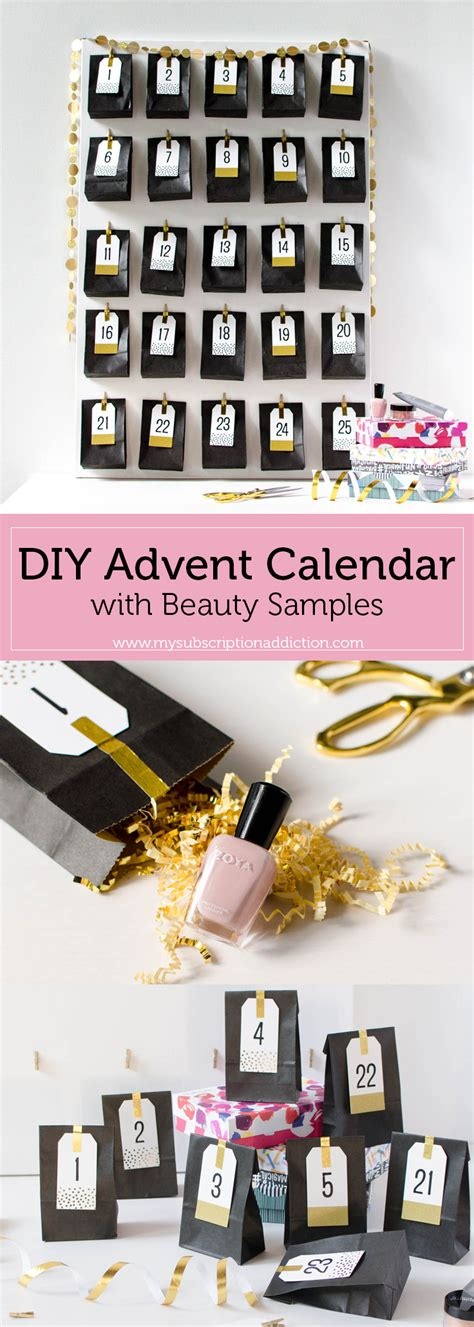 how to make a calendar subscription make your own diy advent calendar with sles