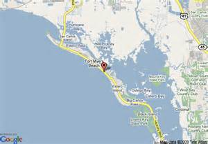 florida gulf coast resorts map map of sandpiper gulf resort fort myers