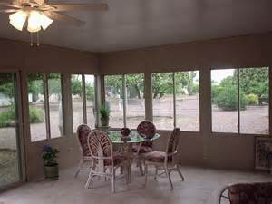 Sunroom Roofs Straight Eave Patio Enclosures Arizona Enclosures And