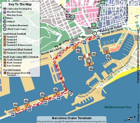 barcellona porto terminal crociere porto di barcellona trasporto