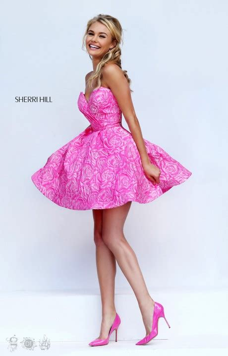 sherri hill  roses   girls  friend dress