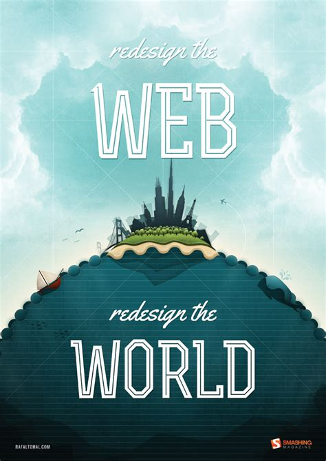 best on the web 35 gorgeous pdf posters redesign the web smashing magazine