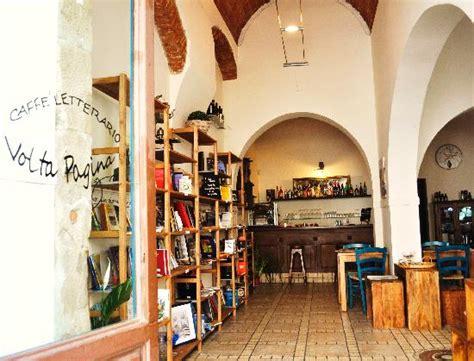 libreria book pisa caffe letterario volta pagina pisa ristorante
