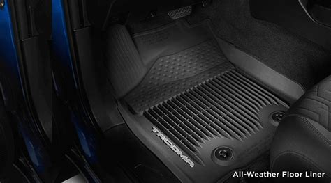 Toyota All Weather Floor Mats Accessory Packages For The 2016 Toyota Tacoma