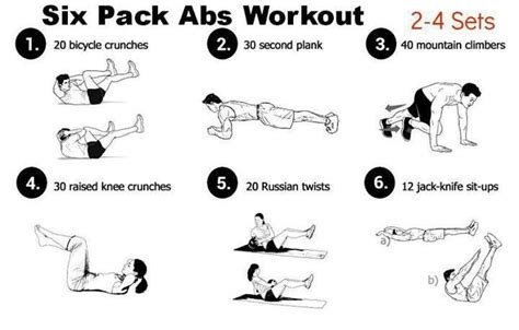 how to get six pack fitness doing workouts how to get 6