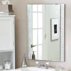 Wall Mounted Mirrors Bathroom - brilliant bathroom vanity mirrors decoration simple wall mounted bathroom mirror design ideas