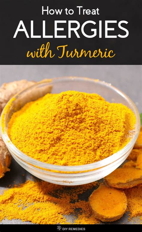 how to treat allergies how to treat allergies with turmeric
