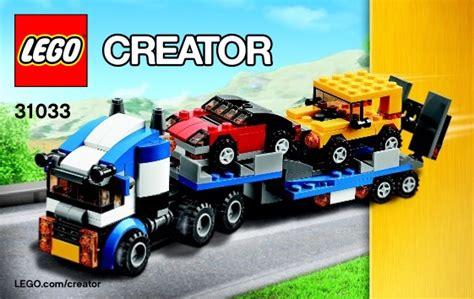 Lego Creator 31033 Vehicle Transporter lego vehicle transporter 31033 creator