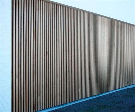 lamellen hout verticaal verticale gevelbekleding hout
