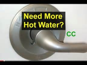 Glacier Bay Shower Faucet Temperature Adjustment by Bathroom Tub Faucet Temperature Adjustment Home Repair