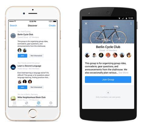 fb app introducing the facebook groups app facebook newsroom