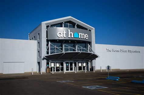 home stores garden ridge invests 20 million to rebrand stores to at home to better reflect company s home