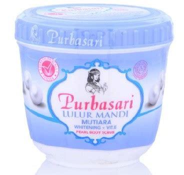 Purbasari Lulur Mandi Mutiara 9 produk harga lulur purbasari di indomaret review